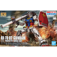 High Grade - RX-78-2 Gundam (Gundam The Origin Ver.)