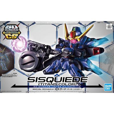 SD Gundam - Cross Silhouette Sisquiede (Titans Colors)