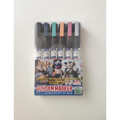 Gundam Metallic Marker Set 2